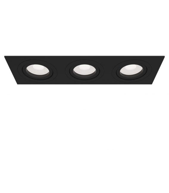 Įmontuojamas šviestuvas ATOM Black DL024-2-03B