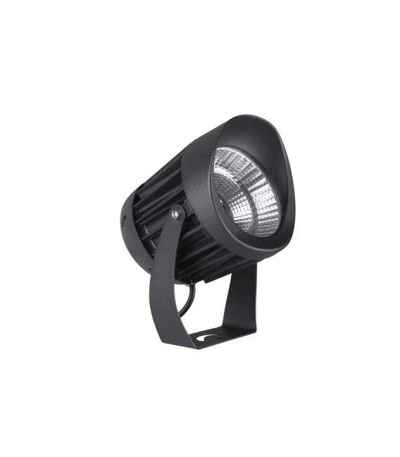 20W LED Pastatomas šviestuvas NORTH Black Ø12 IP65 9240678