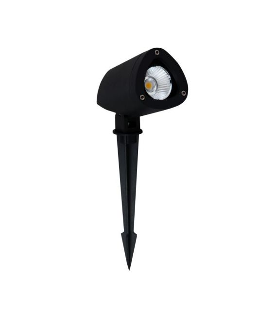 7W LED Įsmeigiamas šviestuvas INSIDE Black H28 IP65 9010005