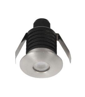 1W LED Įmontuojamas šviestuvas BANG Round Gray IP67 9019212