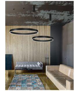 40W LED Pakabinamas šviestuvas MOTIF Black Ø60 9190840