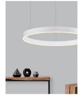 48W LED Pakabinamas šviestuvas MOTIF White Ø80 9190748