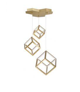 110W LED Pakabinamas šviestuvas GABBIA Gold 9818232