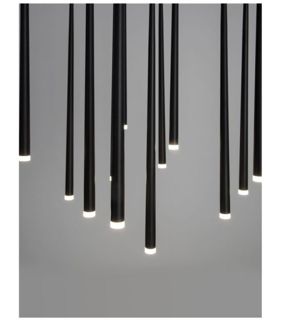 36W LED Pakabinamas šviestuvas GIONO Black 9601012