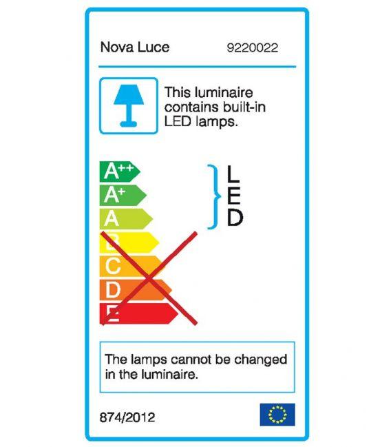 3W LED Lubinis šviestuvas CECI Black IP65 9220022