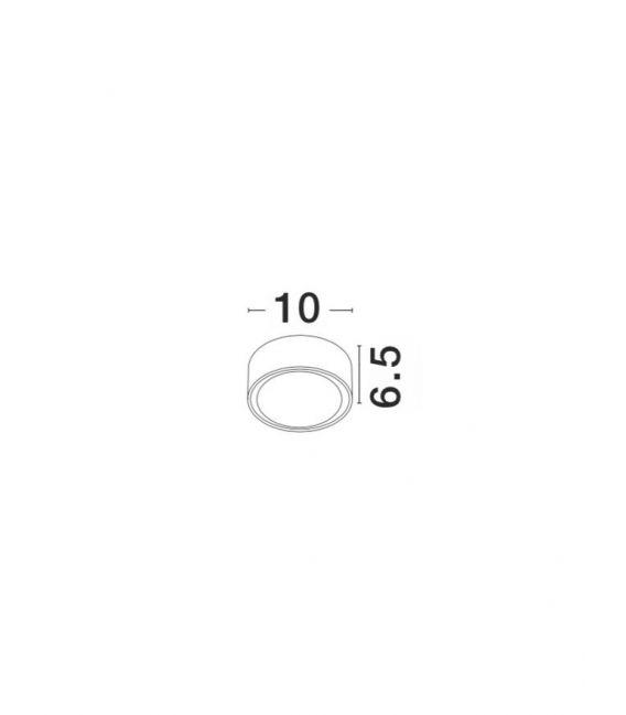 Lubinis šviestuvas FOCUS White IP54 752462