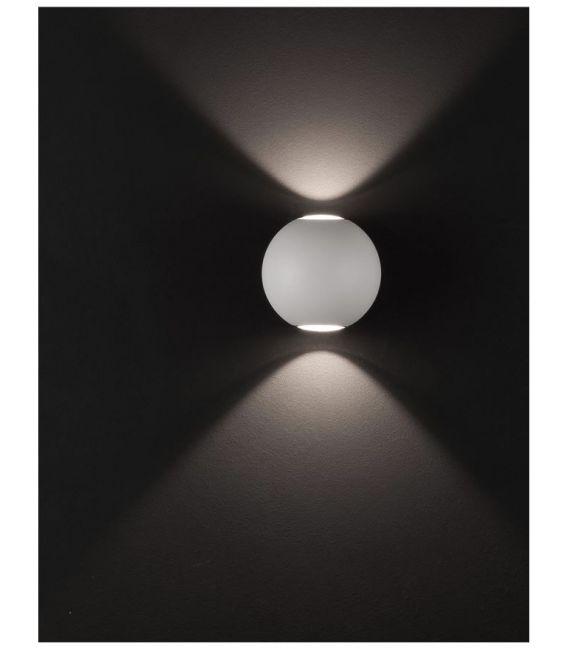 10W LED Sieninis šviestuvas COMO White IP54 726217