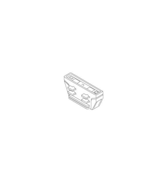Ileidžiamų bėgelių LKM sujungimas Black 7604-10-W30