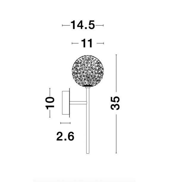 Sieninis šviestuvas MIRANO 9960271