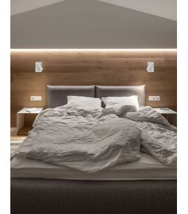 3W LED Sieninis šviestuvas DONA White 9081351