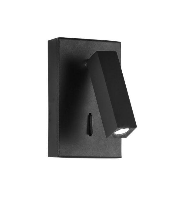 3W LED Sieninis šviestuvas DONA Black 9081352