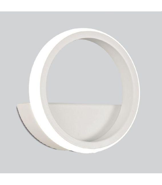 8W LED Sieninis šviestuvas KITESURF White 7194
