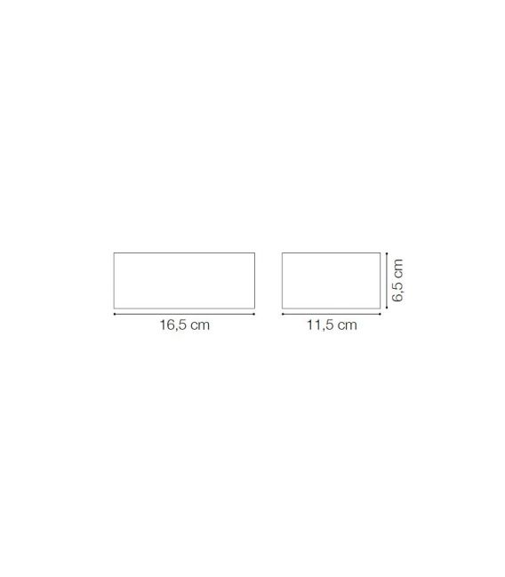 Sieninis šviestuvas TWIN BIG AP1 Anthracite IP44 115368