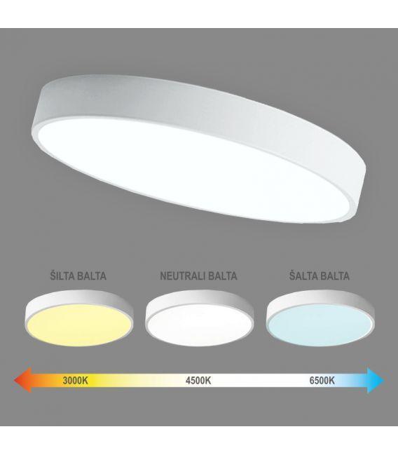 96W LED Lubinis šviestuvas BOSTON Dimeriuojamas 6004000081