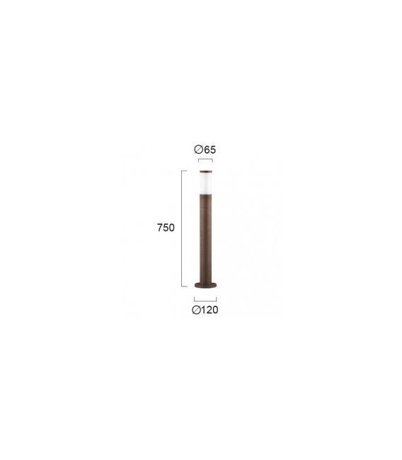 Pastatomas šviestuvas CAVO Brown IP44 4036802