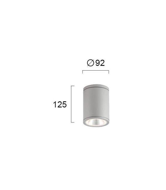 5W LED Lubinis šviestuvas MAROCO Gray IP54 4199100