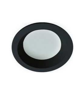 Įmontuojamas šviestuvas YAN Black Round IP44 4151201