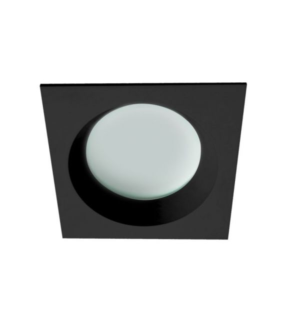 Įmontuojamas šviestuvas YAN Black Square IP44 4151301