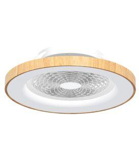 70W LED Šviestuvas su ventiliatoriumi TIBET Wood Dimeriuojamas 7126