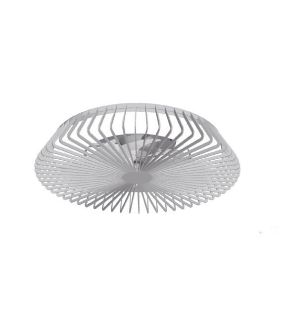70W LED Šviestuvas su ventiliatoriumi HIMALAYA Silver Dimeriuojamas 7122