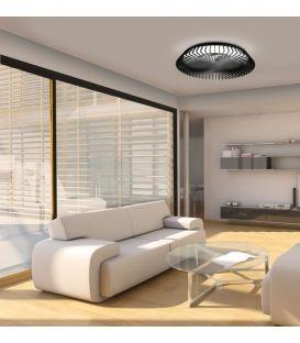 70W LED Šviestuvas su ventiliatoriumi HIMALAYA Black Dimeriuojamas 7121