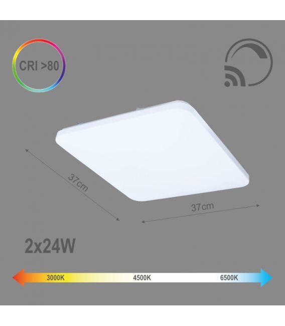 48W LED Lubinis šviestuvas Dimeriuojamas 6004000074