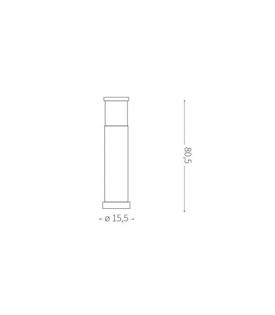 Pastatomas šviestuvas TRONCO PT1 BIG IP44 163741