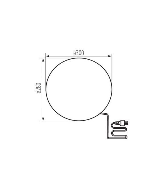 Pastatomas šviestuvas STONO 30 IP65 24651
