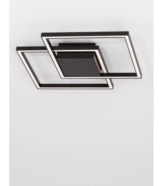 25W LED Lubinis šviestuvas BILBAO Black 9500822