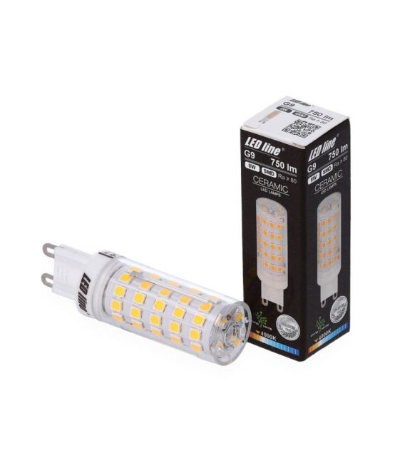 8W LED LEMPA G9 4000K 247910