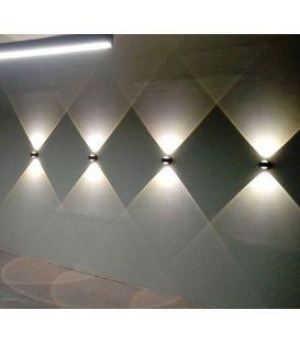 5W LED Sieninis šviestuvas ONO 2 Black 96049EGLO