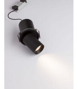 12W LED Įmontuojamas šviestuvas PIN Black IP32 9232131