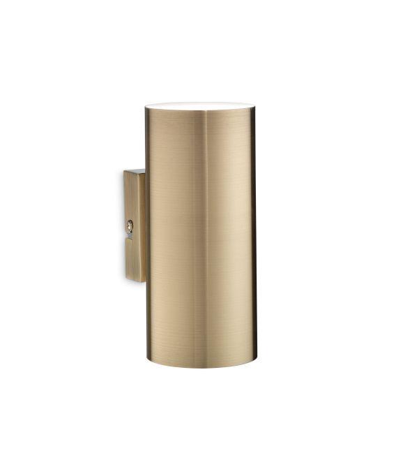 Sieninis šviestuvas LOOK AP2 Brass 164823