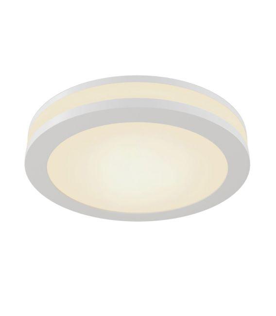 12W LED Įmontuojamas šviestuvas PHANTON Round White DL2001-L12W