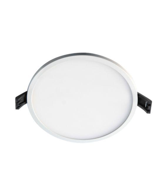 8W LED Įmontuojama panelė White Round Ø9 IP44 3000K LPSR-08WW WQ