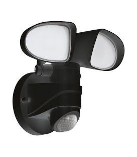 12W LED Šviestuvas su judesio davikliu PAGINO Black IP44 98176