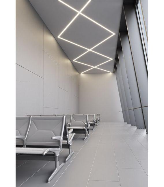 LED profilis KOZEL įleidžiamas, priglaistomas 2 metrai B6454