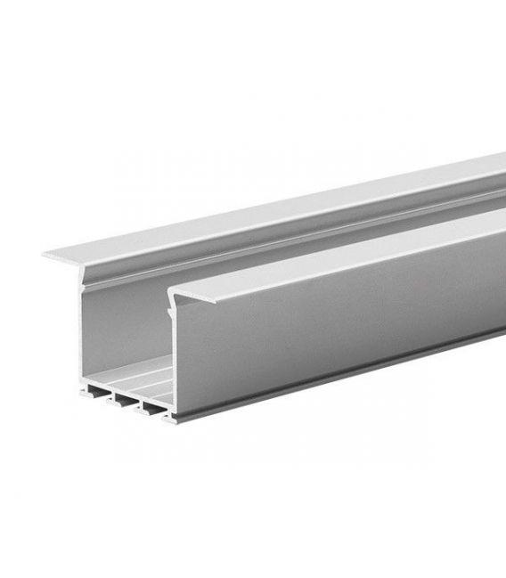 LED profilis LARKO įmontuojamas 2 metrai B5552