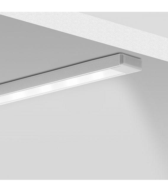 LED profilis MICRO-ALU paviršinis 2 metrai B1888ANODA2