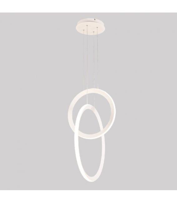 48W LED Pakabinamas šviestuvas KITESURF White 7191