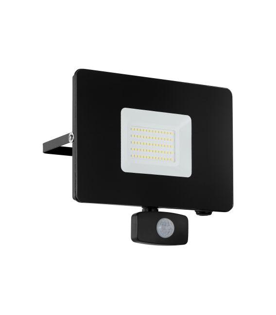 50W LED Sieninis šviestuvas FAEDO 3 Black IP44 97463