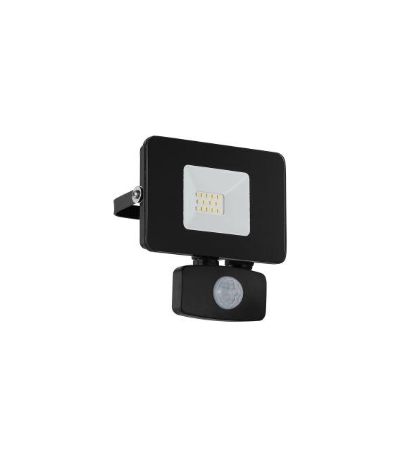 10W LED Sieninis šviestuvas FAEDO 3 Black IP44 97459