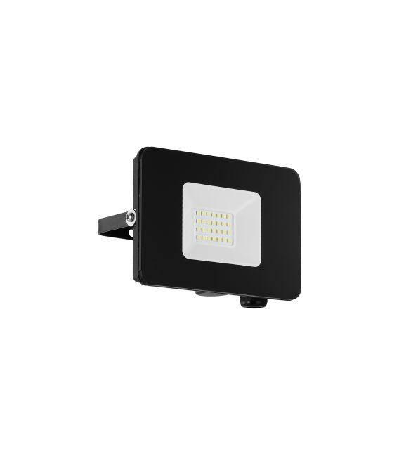 20W LED Sieninis šviestuvas FAEDO 3 Black IP65 97456
