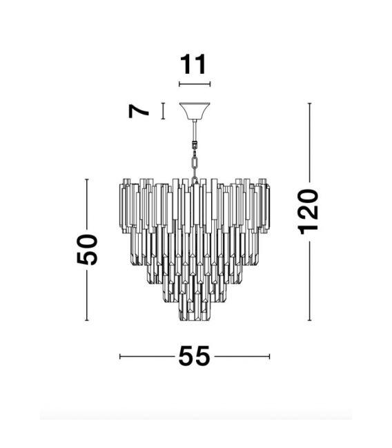 Pakabinamas šviestuvas GRANE Ø55 9181200