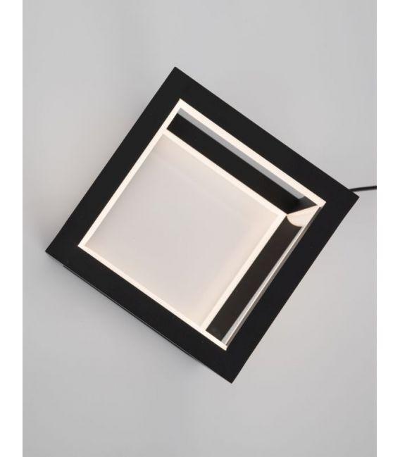 20W LED Stalinis šviestuvas GABBIA Black Dimeriuojamas 9818161