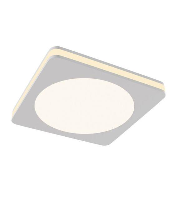 7W LED Įmontuojamas šviestuvas PHANTON Square White DL303-L7W