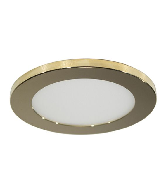 7W LED Įmontuojamas šviestuvas LC1452 Gold Ø9.5 IP44 YLD-021994