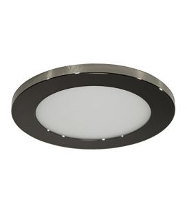 7W LED Įmontuojamas šviestuvas LC1452 Black Ø9.5 IP44 YLD-017577