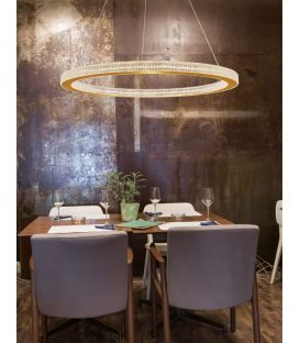 80W LED Pakabinamas šviestuvas FIORE Dimeriuojamas 9285810