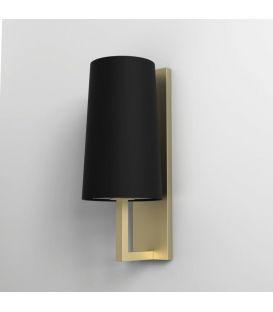 Sieninis šviestuvas RIVA 350 Black/Gold IP44 1214008B